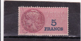 T.F.S.U N°137 - Revenue Stamps