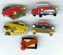5 Pin's BUICK CADILLAC Voiture Automobile - Corvette