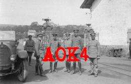 BAUDIREKTION 13 Strasbourg Alsace Lorraine PKW Phänomen 10 Robur Werke Oldtimer 1918 Pionier Park Armee Abteilung A - War 1914-18