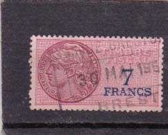 T.F.S.U N°139 - Revenue Stamps