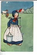 ILLUS 045 - LITTLE HOLLANDERS - RAPHAEL TUCK & SONS - Künstlerkarten