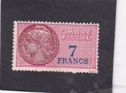 T.F.S.U N°139a - Revenue Stamps