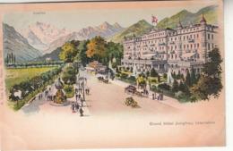 Suisse - BE - Interlaken - Grand Hôtel Jungfrau - BE Berne