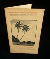 ( Pays-Bas Indonésie Java Batavia  ) INDES NEERLANDAISES : LE CAOUTCHOUC INDIGENE PARIS 1927 - Economia