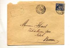 Lettre Cachet Valmont  Sur Sage + Rouen - Poststempel (Briefe)