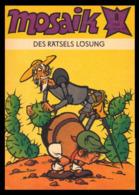 Mosaik [Comic]: 'Des Rätsels Lösung - Heft 08/1981' - Abrafaxe