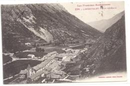 234. L'HOSPITALET . VUE GENERALE . CARTE AFFR AU VERSO LE 27-7-1931 . 2 SCANES - Other Municipalities