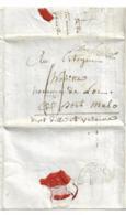 """CONSULAT: """"TRIBUNAT"""" Bonaparte, Defermon, Houitte De La Chesnay Port Malo (Saint Malo) - Documenti Storici"""