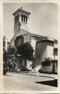 MAROC - CASABLANCA - L'EGLISE SAINT FRANCOIS - CPSM Petit Format En Noir Et Blanc - Casablanca