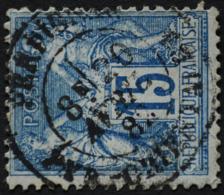 -Sage N°90 Type Ll. O .(CAD ) PERPIGNAN 20 Avril 1882. - 1876-1898 Sage (Type II)