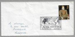 "E54 - Enveloppe Grande Bretagne - Oblitération "" BI-CENTENARY OF CAPT. COOK - PLYMOUTH - DEVON - AUGUST 26 1968 - Briefe U. Dokumente"