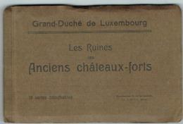 Carnet 18 Cartes Détachables (ANCIENS Châteaux-Forts éd,Hansen. - Ansichtskarten