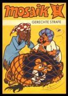 Mosaik [Comic]: 'Gerechte Strafe - Heft 12/1981' - Abrafaxe