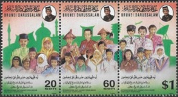 Brunei 1994 S#468 Drug Abuse And Trafficking MNH Aircraft Doctor Police Scout Costume Uniform Satellite - Brunei (1984-...)