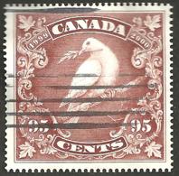Sc. #1814 Millennium Single, Dove Of Peace Booklet 1999 K060 - 1952-.... Règne D'Elizabeth II