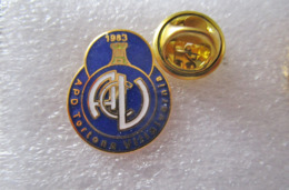 2/2 A.C. Villavernia Calcio Val Borbera Tortona Alessandria Distintivi FootBall Soccer Spilla Pins Italy - Calcio