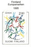 Finnland / Suomi Finland  1995  Mi.Nr. 1295 , EUROPA CEPT - Frieden Und Freiheit - Gestempelt / Fine Used / (o) - Europa-CEPT