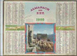 ALMANACH DES POSTES  1968 ( CALENDRIER ) SONT-ILS TOUS LA ? - Calendriers
