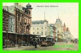 MELBOURNE, AUSTRALIE - ANIMATED SWANSTON STREET - V. S. M. - - Melbourne