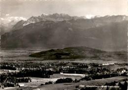 Blick Von Tönern Ob Ricken (SG) Gegen Kloster Berg Sion, Gommiswald (27809) - SG St. Gallen