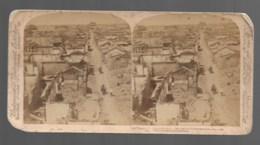 CHINE  Vieux TIENTSIN, Bombardement - Stereoscopic