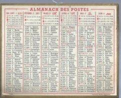 ALMANACH DES POSTES  1961 ( CALENDRIER ) - Calendriers