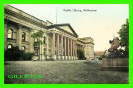 MELBOURNE, AUSTRALIE - PUBLIC LIBRARY - V. S. M. - - Melbourne