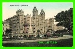 MELBOURNE, AUSTRALIE - GRAND HOTEL - V. S. M. - - Melbourne