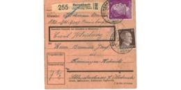 Allemagne  - Colis Postal  - Départ Reimsbach über Merzig ( Saar ) - Germany