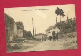 C.P. Rossignol = Route  De  Neufchâteau  :  Centre  Du  Village - Tintigny