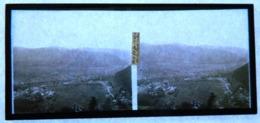 Plaque De Verre - Vue Stéréoscopique - Celles - Vue De La Roche De La Soye - Vue Générale - Glass Slides