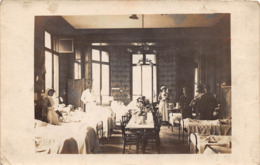 Militaria - Carte Photo - SAINT MALO - Hôpital Militaire - Juillet 1915 - Infirmière - Miss Harrisson - Sister Grall - Saint Malo