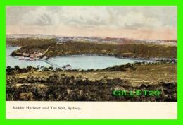 SYDNEY, AUSTRALIE - MIDDLE HARBOUR AND THE SPIT, SYDNEY - HARDING & BILLING'S - - Sydney
