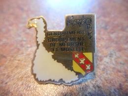 A039 -- Pin's Gendarmerie Groupement De Meurthe Et Moselle - Police