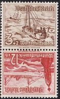 GERMANY REICH [Zdr] SK31 ( **/mnh ) Schiffe - Zusammendrucke