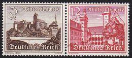 GERMANY REICH [Zdr] W144 ( **/mnh ) Bauwerke - Se-Tenant