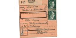 Allemagne  - Colis Postal  - Départ Römerbad ( Steierm ) - Deutschland