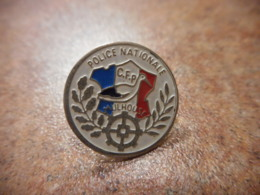 A039 -- Pin's Police Nationale Mulhouse - Police