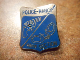 A039 -- Pin's Police Nancy 4eme Section - Police