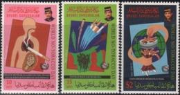 Brunei 1994 S#461-463 World No Tobacco Day MNH Medicine Health - Brunei (1984-...)