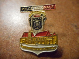 A039 -- Pin's Police Nationale Coulommiers - Polizei
