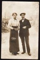 VAUCHASSIS (400 Habitants) Plan TOP Sur William Et Reine Binet. RARE Carte Photo écrite Par Reine Binet En 1915 - Francia