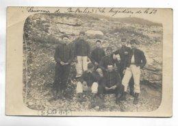 "25 - Carte Non Titrée. Inscription Manuscrite "" Souvenir De Pontarlier : Les Brigadiers De La 4° ( 30 Juillt 1907 ) - Pontarlier"