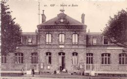 GIF - Mairie Et Ecoles   (116151) - Gif Sur Yvette