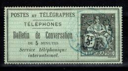 Telephone - YV 11 Oblitere - Telegraphie Und Telefon