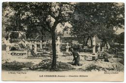 80 : LE CESSIER - CIMETIERE MILITAIRE - Francia