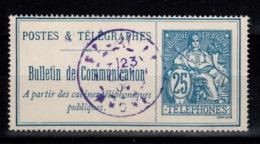 Telephone - YV 24 Oblitere - Telegraphie Und Telefon