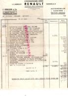 86- MONTMORILLON- FACTURE AUTOMOBILES RENAULT- F. ROBUCHON-BD STRASBOPURG- 1958 - Cars