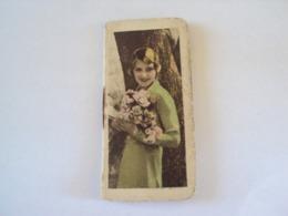 CALENDRIER 1938  (format 7,5 Cm X 3,5 Cm) - Calendari