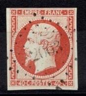 France Napoléon III 1853 - YT N°16 - Oblitéré Losange - 1853-1860 Napoleon III